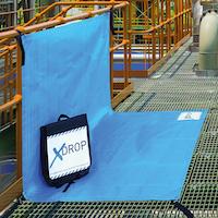 xdrop mat in use