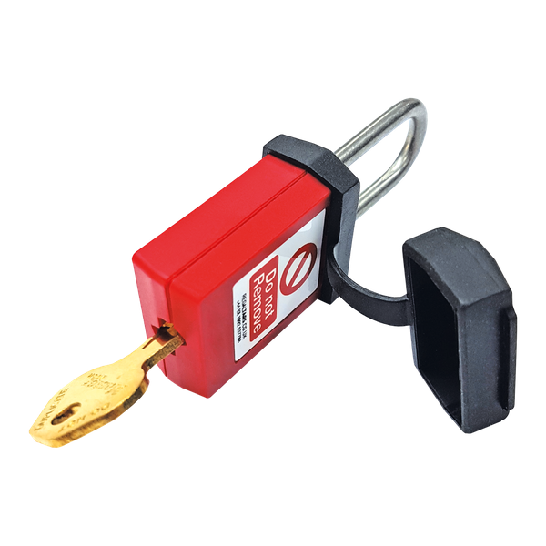 Safety Padlock in use