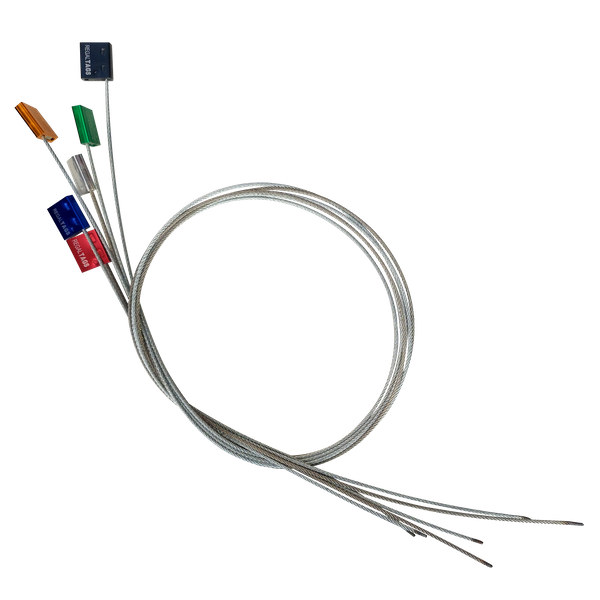 wire locks car seals colours