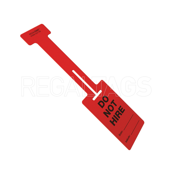 Hire Tag Red
