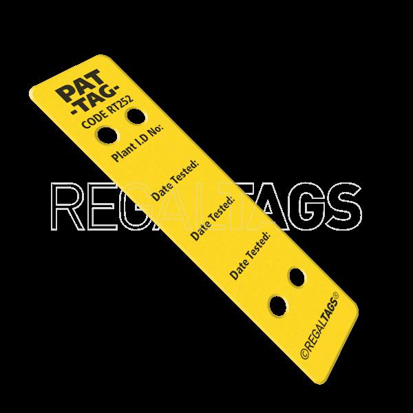 Pat Tag Yellow
