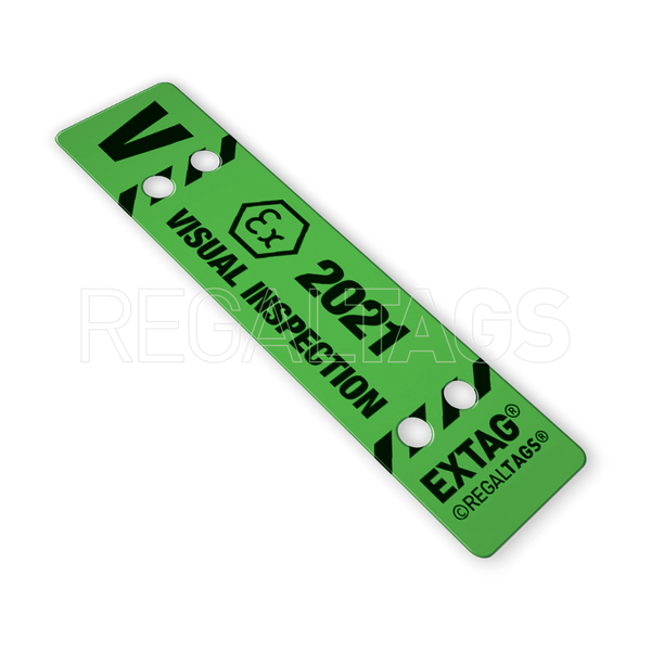 ATEX Inspection Tag REGALTAGS Visual