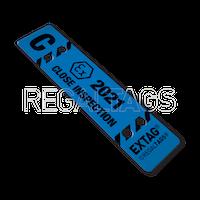 ATEX Inspection Tag REGALTAGS Close