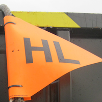 Heavy Lift Pennant in use