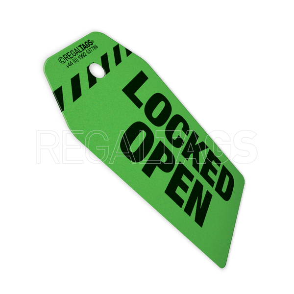 isolation tag green